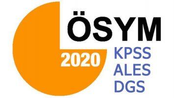 2020 KPSS – ALES – DGS İÇİN KURS PROGRAMLARIMIZ