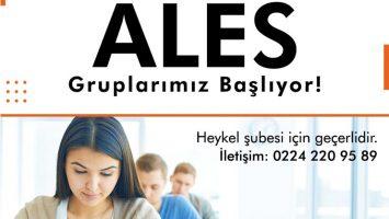 ALES Gruplarımız İçin Erken Kayıt Dönemimiz Başladı