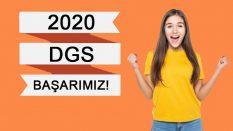 2020 DGS Başarımız
