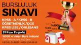KPSS / ÖĞRETMENLİK / DGS BURSLULUK SINAVI