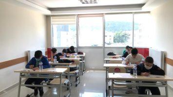 Öğrencilerimiz Sınav Provasında